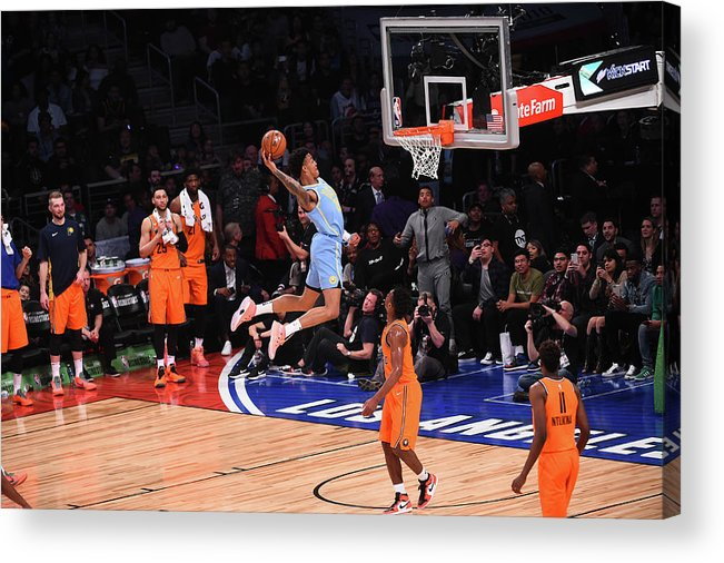 Event Acrylic Print featuring the photograph John Collins by Noah Graham