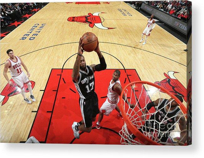 Nba Pro Basketball Acrylic Print featuring the photograph Jonathon Simmons by Nathaniel S. Butler