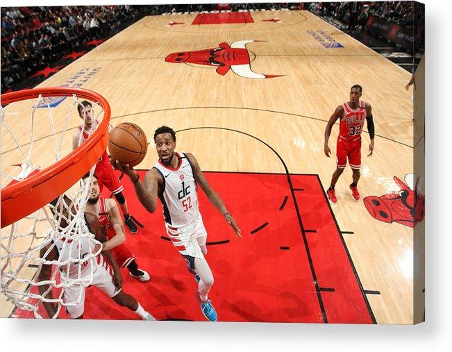 Nba Pro Basketball Acrylic Print featuring the photograph Jordan Mcrae by Gary Dineen