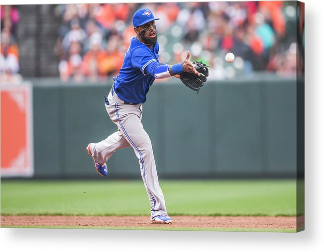 Double Play Acrylic Print featuring the photograph Jose Reyes by Rob Tringali