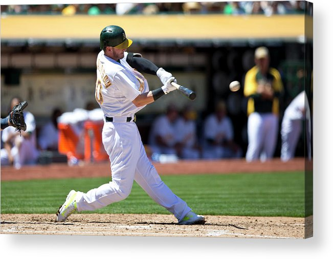 American League Baseball Acrylic Print featuring the photograph Josh Donaldson by Jason O. Watson