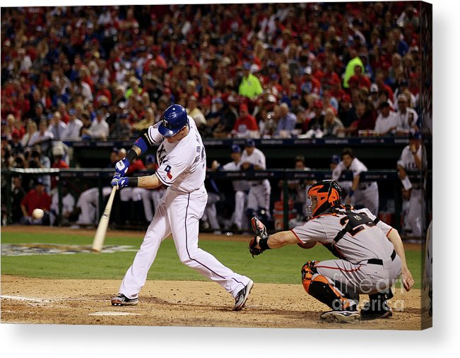 People Acrylic Print featuring the photograph Josh Hamilton by Elsa
