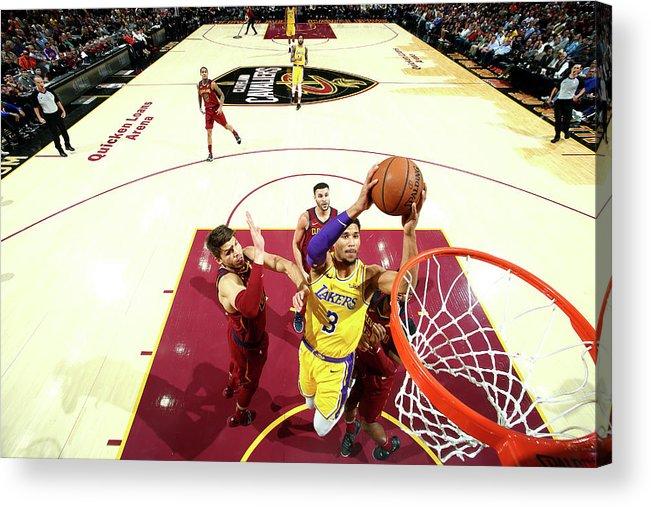 Nba Pro Basketball Acrylic Print featuring the photograph Josh Hart by Nathaniel S. Butler