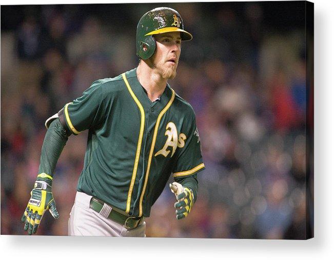 American League Baseball Acrylic Print featuring the photograph Josh Reddick by Jason Miller