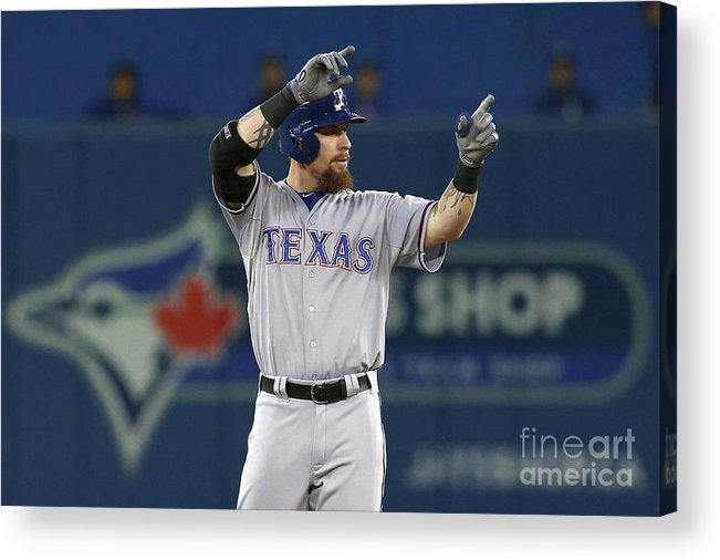 Three Quarter Length Acrylic Print featuring the photograph Josh Rogers by Vaughn Ridley