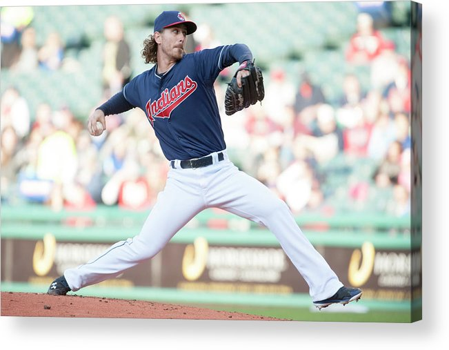 Second Inning Acrylic Print featuring the photograph Josh Tomlin by Jason Miller