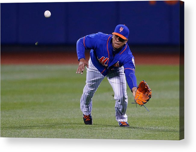 People Acrylic Print featuring the photograph Juan Lagares by Mike Stobe