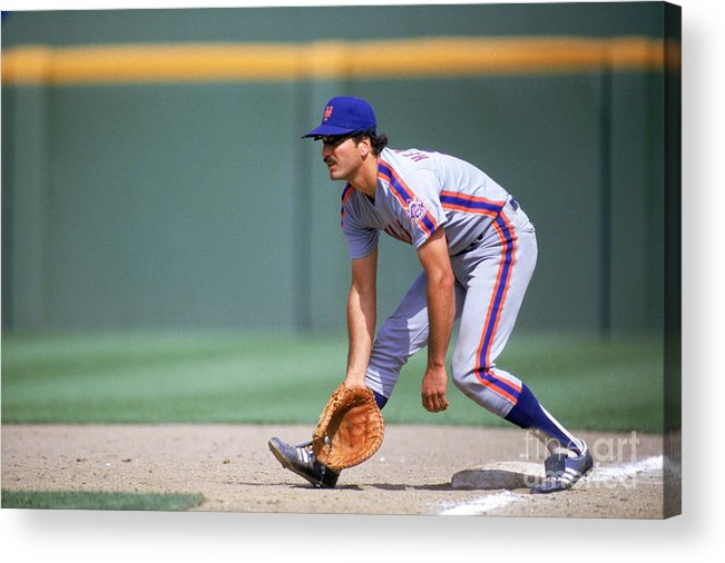1980-1989 Acrylic Print featuring the photograph Keith Hernandez by Stephen Dunn