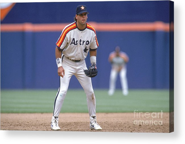 Home Base Acrylic Print featuring the photograph Ken Caminiti by Stephen Dunn