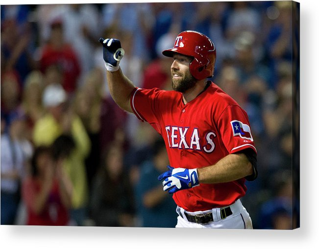American League Baseball Acrylic Print featuring the photograph Kevin Kouzmanoff by Cooper Neill