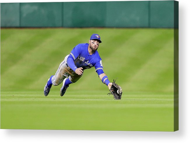 People Acrylic Print featuring the photograph Kevin Pillar by Bob Levey