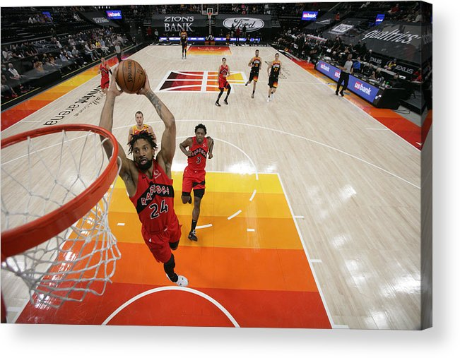 Nba Pro Basketball Acrylic Print featuring the photograph Khem Birch by Melissa Majchrzak