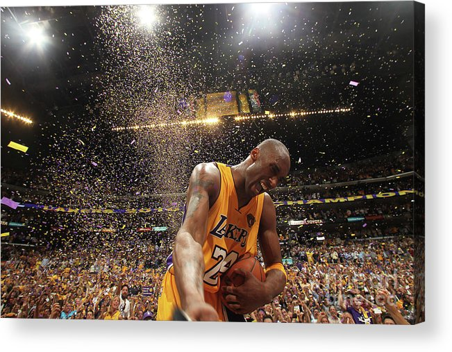 Playoffs Acrylic Print featuring the photograph Kobe Bryant by Nathaniel S. Butler