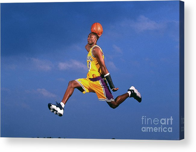 Event Acrylic Print featuring the photograph Kobe Bryant by Walter Iooss Jr.