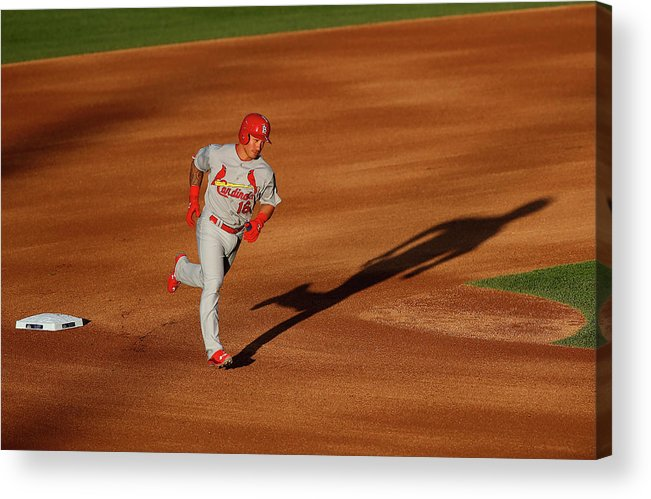 St. Louis Cardinals Acrylic Print featuring the photograph Kolten Wong by Doug Pensinger