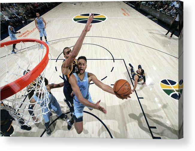 Nba Pro Basketball Acrylic Print featuring the photograph Kyle Anderson by Melissa Majchrzak