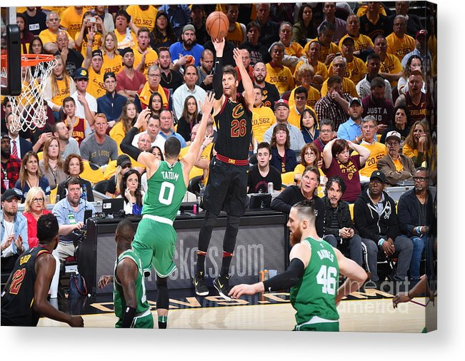Playoffs Acrylic Print featuring the photograph Kyle Korver by Brian Babineau