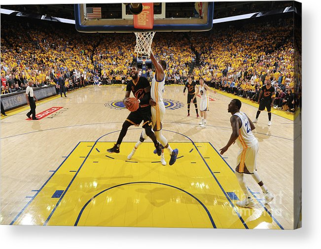 Playoffs Acrylic Print featuring the photograph Kyrie Irving by Andrew D. Bernstein