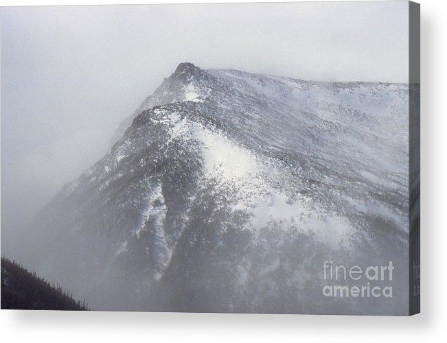 Lions Head Acrylic Print featuring the photograph Lion Head - Mount Washington New Hampshire by Erin Paul Donovan