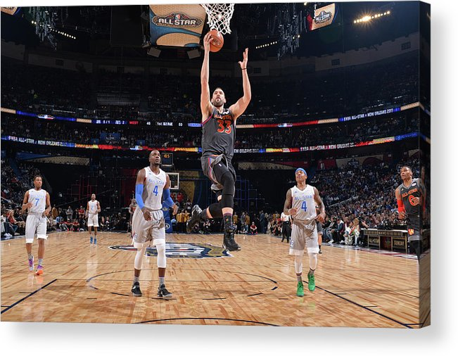 Event Acrylic Print featuring the photograph Marc Gasol by Jesse D. Garrabrant