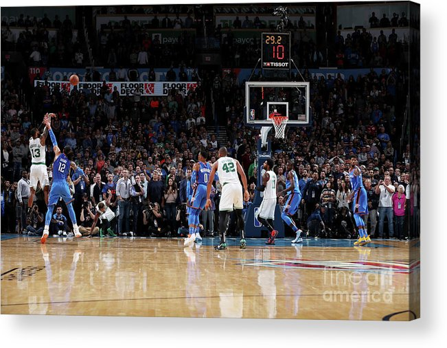 Nba Pro Basketball Acrylic Print featuring the photograph Marcus Morris by Zach Beeker