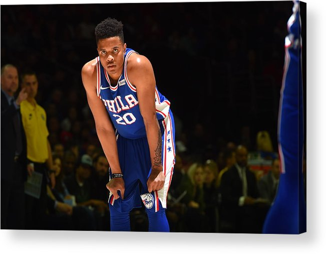 People Acrylic Print featuring the photograph Markelle Fultz by Jesse D. Garrabrant
