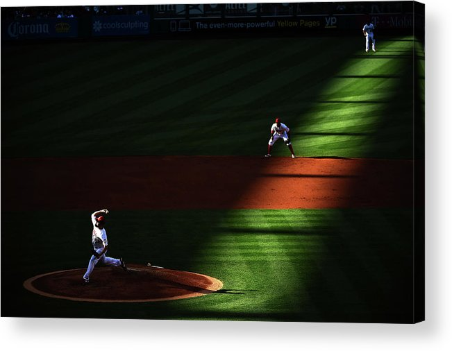 Second Inning Acrylic Print featuring the photograph Matt Shoemaker by Harry How