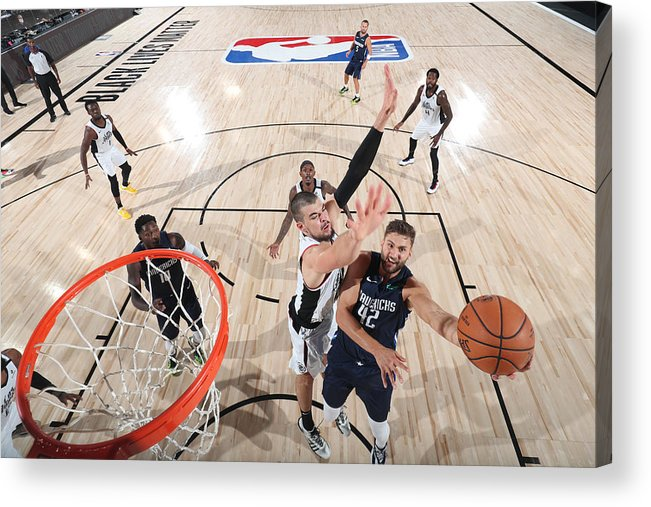Playoffs Acrylic Print featuring the photograph Maxi Kleber by Joe Murphy