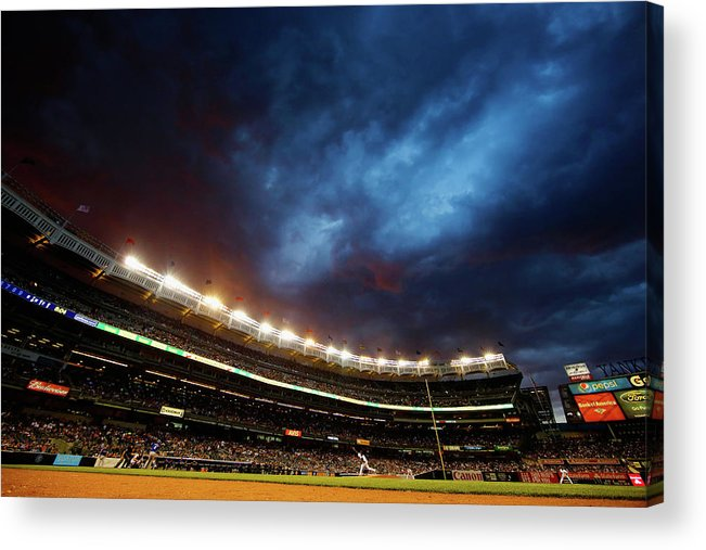 People Acrylic Print featuring the photograph Michael Pineda by Al Bello