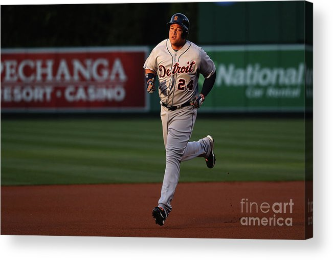 People Acrylic Print featuring the photograph Miguel Cabrera by Sean M. Haffey
