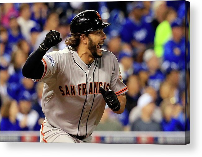 Mike Morse Acrylic Print featuring the photograph Mike Morse by Rob Carr