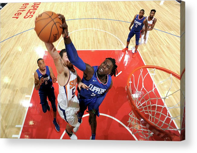 Nba Pro Basketball Acrylic Print featuring the photograph Montrezl Harrell by Andrew D. Bernstein