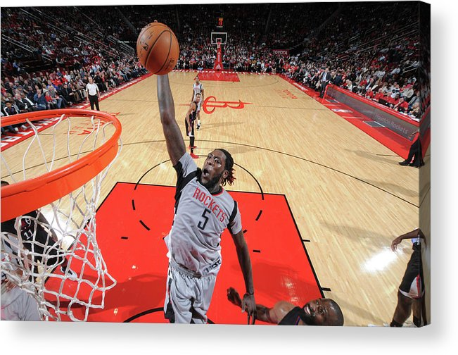 Nba Pro Basketball Acrylic Print featuring the photograph Montrezl Harrell by Bill Baptist