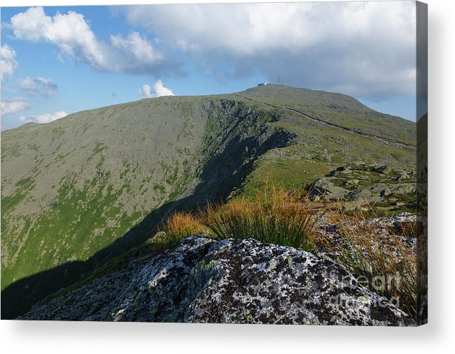 New Hampshire Acrylic Print featuring the photograph Mount Washington - New Hampshire White Mountains by Erin Paul Donovan