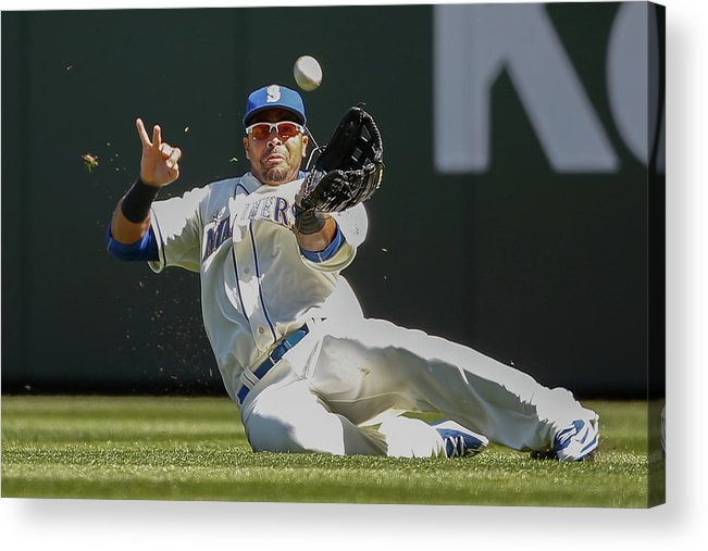 People Acrylic Print featuring the photograph Nelson Cruz by Otto Greule Jr