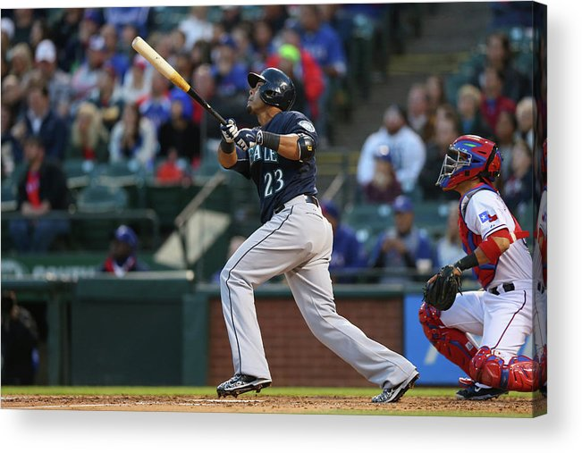 People Acrylic Print featuring the photograph Nelson Cruz by Ronald Martinez