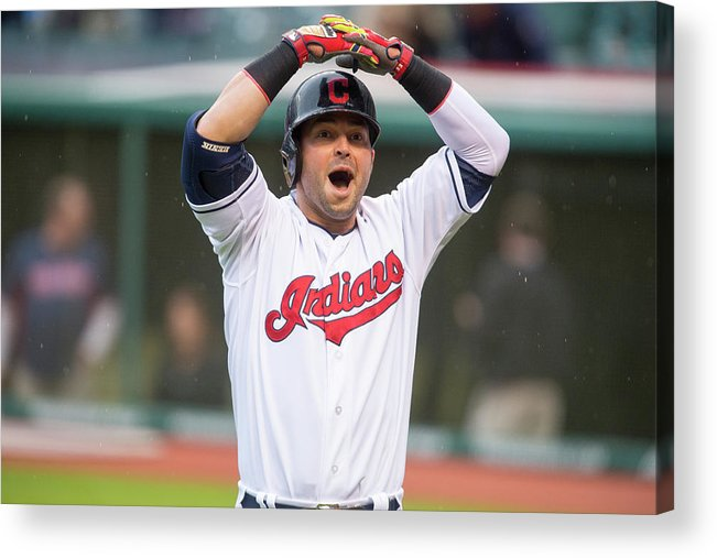 American League Baseball Acrylic Print featuring the photograph Nick Swisher by Jason Miller