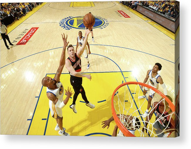 Playoffs Acrylic Print featuring the photograph Pat Connaughton by Noah Graham