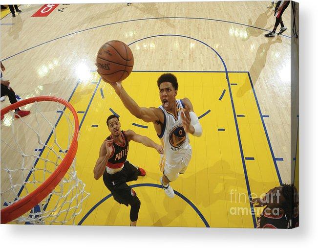 Playoffs Acrylic Print featuring the photograph Patrick Mccaw by Garrett Ellwood