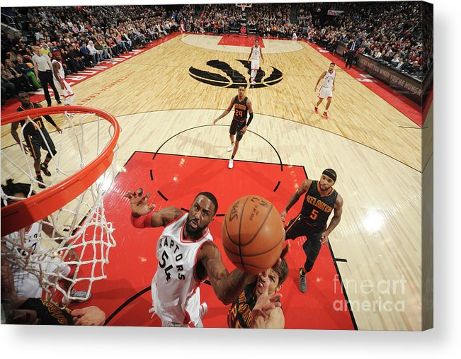 Patrick Patterson Acrylic Print featuring the photograph Patrick Patterson by Ron Turenne