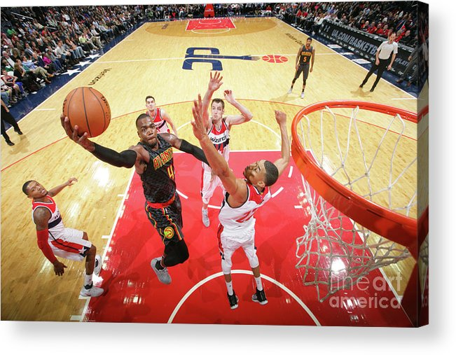 Nba Pro Basketball Acrylic Print featuring the photograph Paul Millsap by Ned Dishman