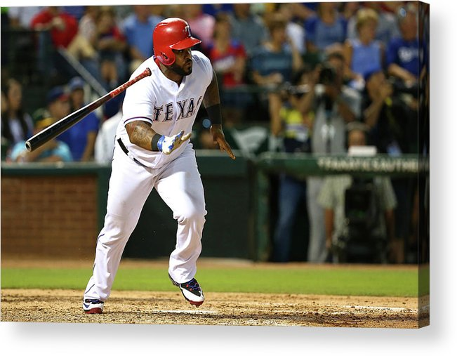 People Acrylic Print featuring the photograph Prince Fielder by Sarah Crabill