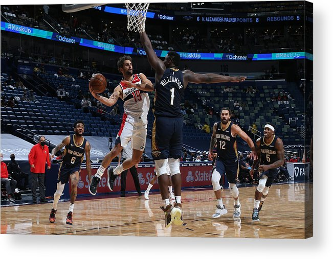 Smoothie King Center Acrylic Print featuring the photograph Raul Neto by Layne Murdoch Jr.