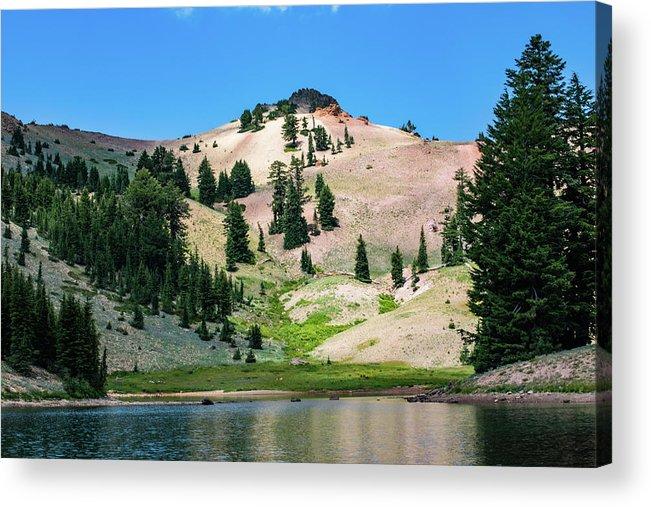 Lake Acrylic Print featuring the photograph Ridge Lakes #1 by John Heywood