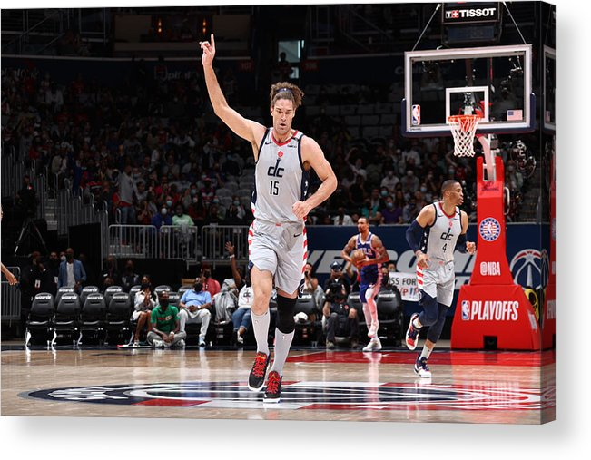 Playoffs Acrylic Print featuring the photograph Robin Lopez by Stephen Gosling