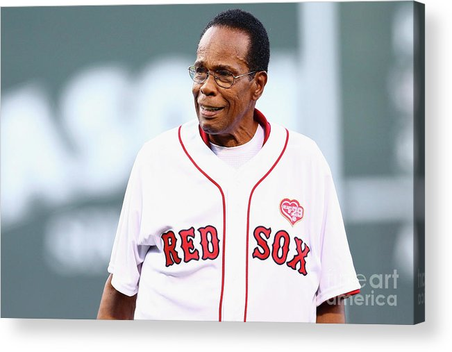 People Acrylic Print featuring the photograph Rod Carew by Maddie Meyer