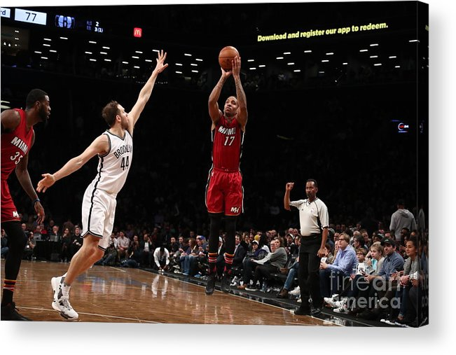 Nba Pro Basketball Acrylic Print featuring the photograph Rodney Mcgruder by Nathaniel S. Butler