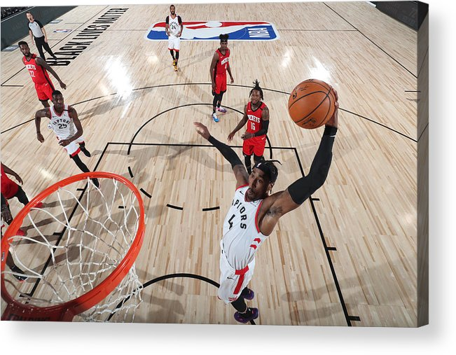 Nba Pro Basketball Acrylic Print featuring the photograph Rondae Hollis-jefferson by Joe Murphy