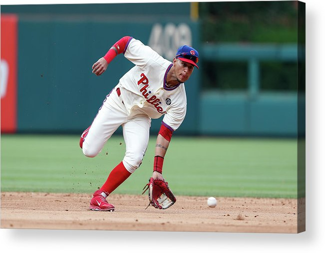 People Acrylic Print featuring the photograph Ronny Cedeno by Brian Garfinkel