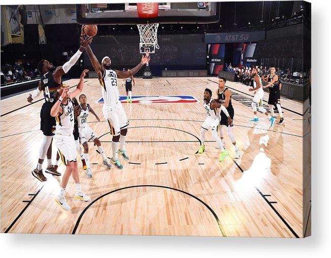Playoffs Acrylic Print featuring the photograph Royce O'neale by Garrett Ellwood